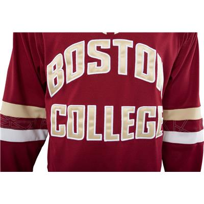 Front Detail (Under Armour Boston College Eagles Jersey - Home/Dark)