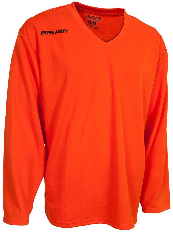 Orange (Bauer 200 Series Core Practice Jersey - Senior) 11080f1a41c
