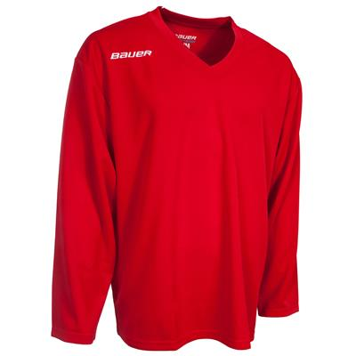 Red (Bauer 200 Series Core Practice Jersey - Senior)