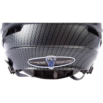 Back Detail (Cascade R Carbon Helmet)