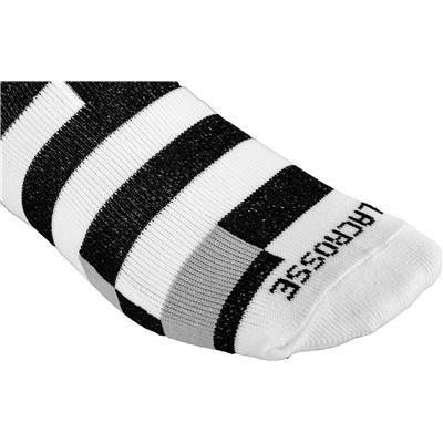 (STX Fractured Strip Socks)