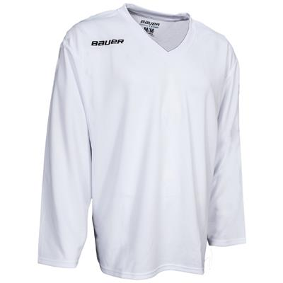 White (Bauer 200 Series Core Practice Jersey)