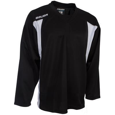 black (Bauer 600 Series Premium Practice Jersey)