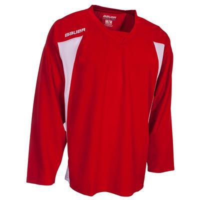 red (Bauer 600 Series Premium Practice Jersey)