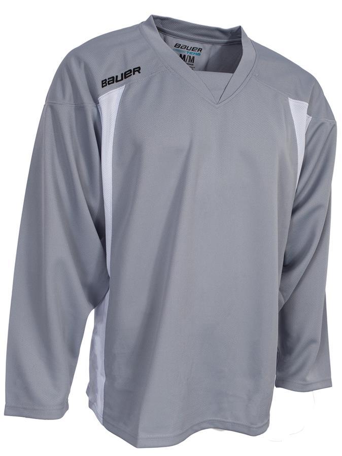 Silver (Bauer 600 Series Premium Practice Jersey - Junior) 573e71092d0