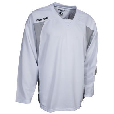 White (Bauer 600 Series Premium Practice Jersey)