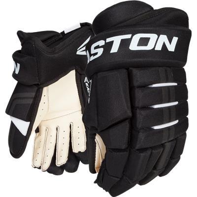 Black/White (Easton Pro 7 Gloves)