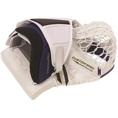 Vaughn Velocity 7 XF Pro Goalie Catch Glove - Side (Vaughn Velocity 7 XF Pro Goalie Catch Glove)