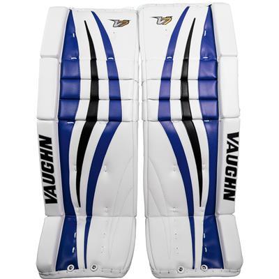 White/Blue/Black (Vaughn Velocity 7 XF Pro Goalie Leg Pads)