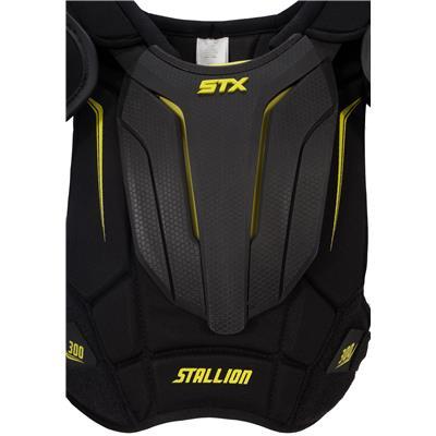 chest plate (STX Stallion 300 Shoulder Pads)