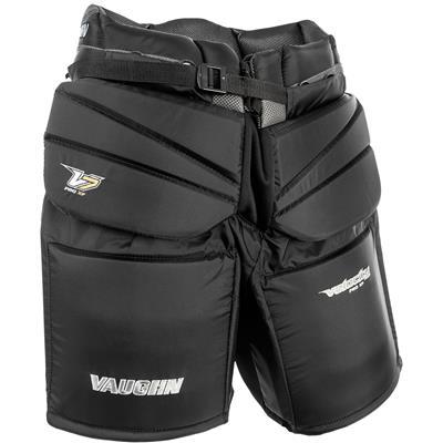 Black (Vaughn Velocity 7 XF Pro Goalie Pants - Intermediate)