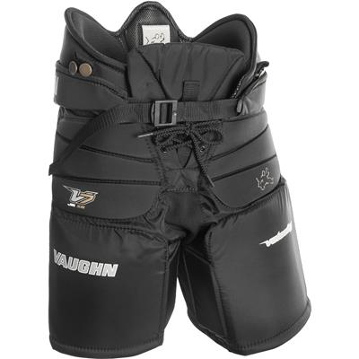 Black (Vaughn Velocity 7 XR Pro Goalie Pants)