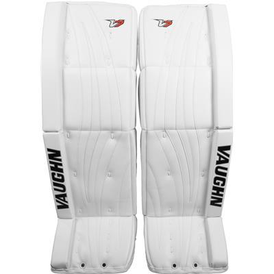 White/White/White (Vaughn Velocity 7 XR Pro Carbon Goalie Leg Pads)