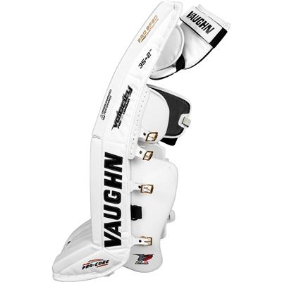 Outside Side View (Vaughn Velocity 7 XR Pro Carbon Goalie Leg Pads)