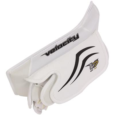 (Vaughn Velocity 7 XF Pro Goalie Blocker)