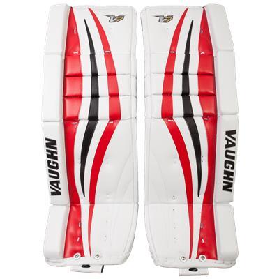 White/Red/Black (Vaughn Velocity 7 XF Pro Goalie Leg Pads)