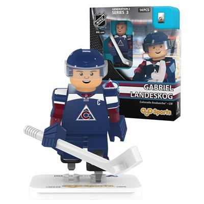Landeskog (OYO Sports Colorado Avalanche NHL Mini Figures - Third Jersey)