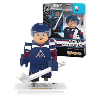 MacKinnon (OYO Sports Colorado Avalanche NHL Mini Figures - Third Jersey)