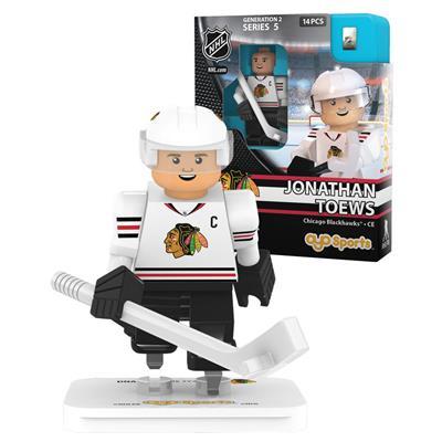 Toews (OYO Sports Chicago Blackhawks NHL Mini Figures - Away Jersey)