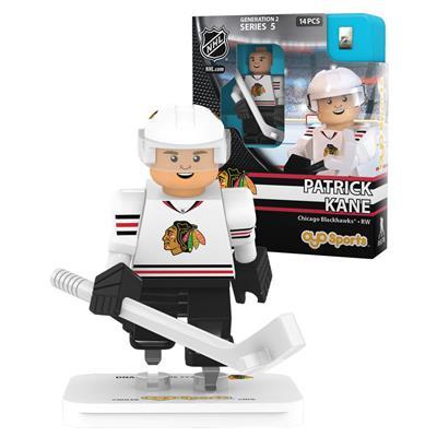 Kane (OYO Sports Chicago Blackhawks NHL Mini Figures - Away Jersey)
