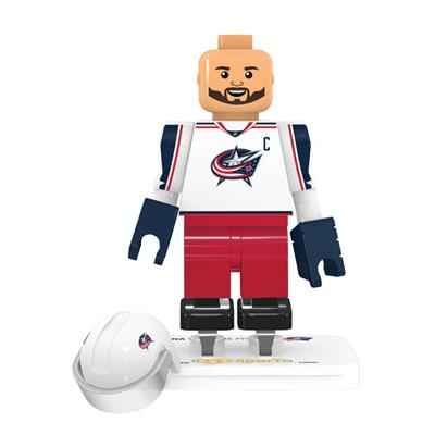 (OYO Sports Columbus Blue Jackets NHL Mini Figures - Away Jersey)