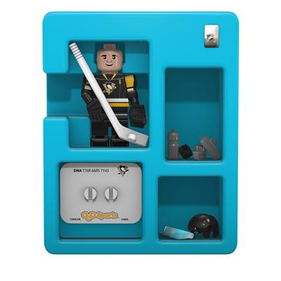 Contents Of Package (OYO Sports Pittsburgh Penguins NHL Mini Figures - Third Jersey)