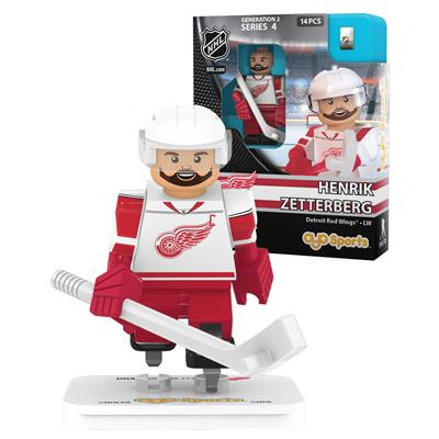 Zetterberg (OYO Sports Detroit Red Wings NHL Mini Figures - Away Jersey)