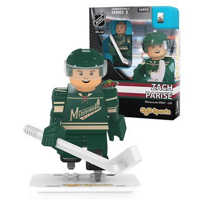 Parise (OYO Sports Minnesota Wild NHL Mini Figures - Third Jersey)