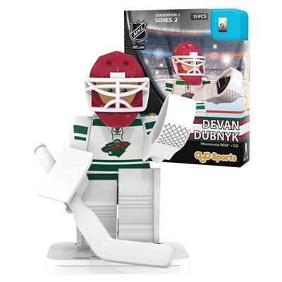 Dubnyk (OYO Sports Minnesota Wild NHL Mini Figures - Third Jersey)