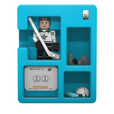 Contents Of Package (OYO Sports Dallas Stars NHL Mini Figures - Away Jersey)