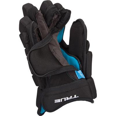 (TRUE Fit Z-Palm Hockey Gloves - Palm Only - Junior)