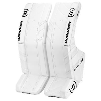 White/White (Warrior Ritual G3 Goalie Leg Pads)