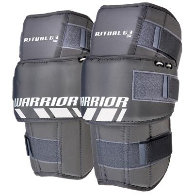 Included Knee Pads (Warrior Ritual G3 Pro Goalie Leg Pads)