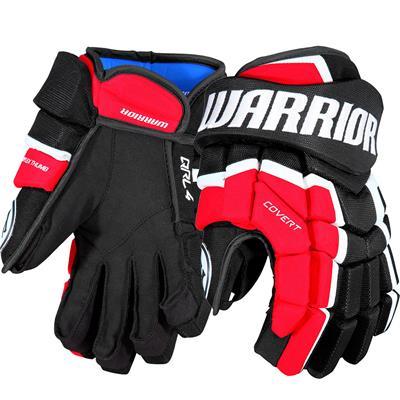 (Warrior Covert QRL4 Hockey Gloves)