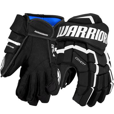 Black/White (Warrior Covert QRL4 Hockey Gloves)