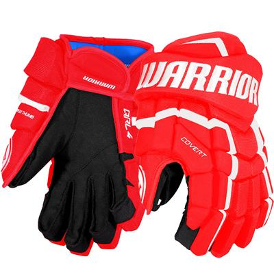 Red/White (Warrior Covert QRL4 Hockey Gloves)