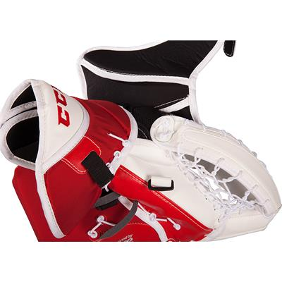opened (CCM Premier R1.9 Goalie Catch Glove)