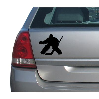(A&R Hockey Goalie Car Magnet)