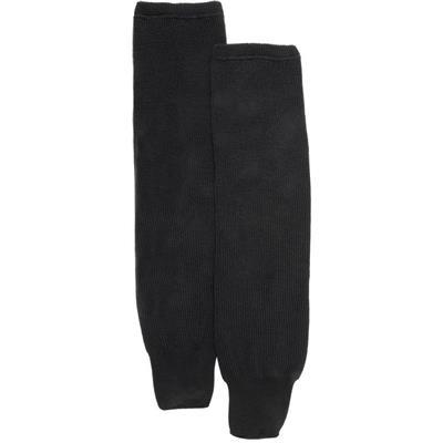 Black (CCM S100P Knit Socks - Youth)