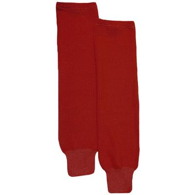 Red (CCM S100P Knit Socks)