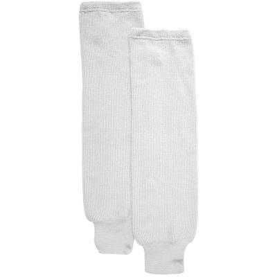 White (CCM S100P Knit Socks - Senior)