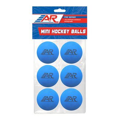 (A&R Mini Hockey Balls - 6 Pack)