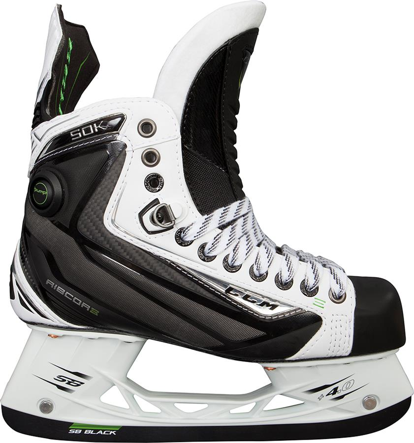 13024f376df (CCM Ribcor 50K White Ice Skates - Senior)