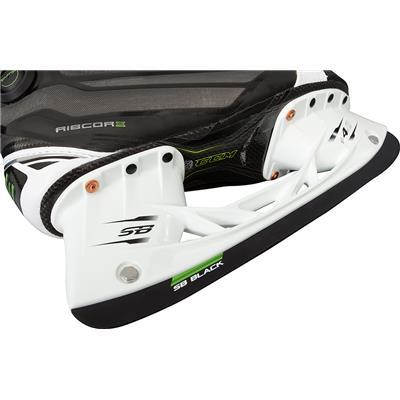 (CCM Ribcor 50K White Ice Skates)