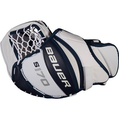 (Bauer Supreme S170 Goalie Catch Glove - 2017)