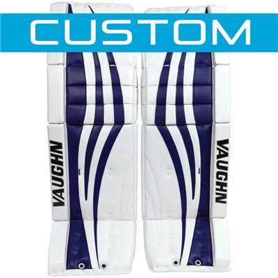 (Vaughn Velocity 7 XF Pro Carbon CUSTOM Goalie Leg Pads)
