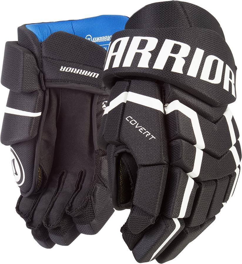 8b8170cc49f Black (Warrior Covert QRL5 Hockey Gloves - Senior)