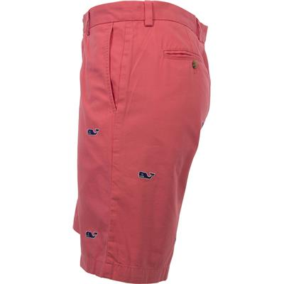 (Vineyard Vines Whale Embroidered Breaker Shorts)