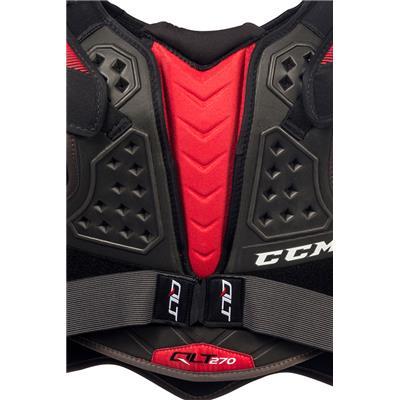 (CCM QuickLite 270 Hockey Shoulder Pads - Senior)