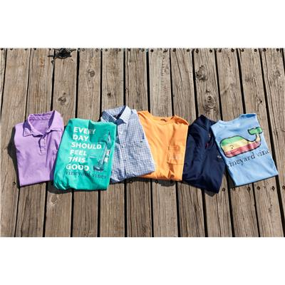 (Vineyard Vines Pigment Dyed Polo)